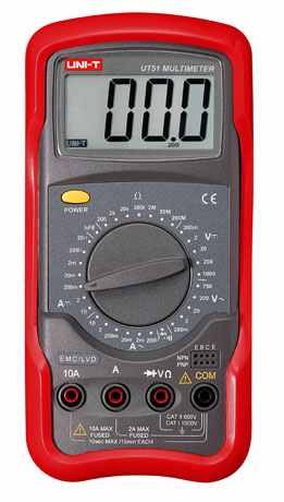 Uni-T UT51 Digital Multimeter tester