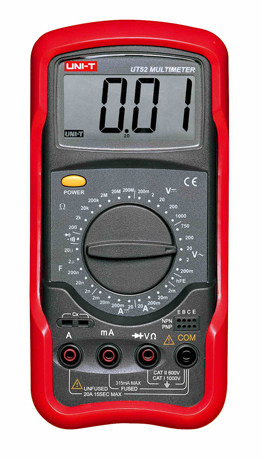 Uni-T UT52 Digital Multimeter tester