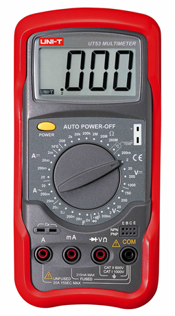 Uni-T UT53 Digital Multimeter tester