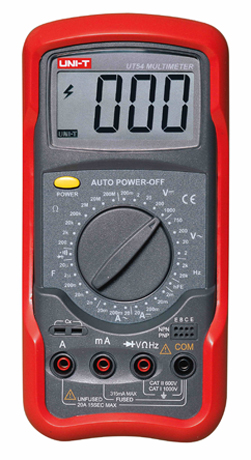 Uni-T UT54 Digital Multimeter tester